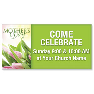 Mother's Day Outdoor Banners