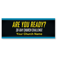 30-Day Church Challenge Banner