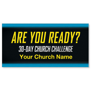 30 Day Church Challenge - 4 x 8  ImpactBanners