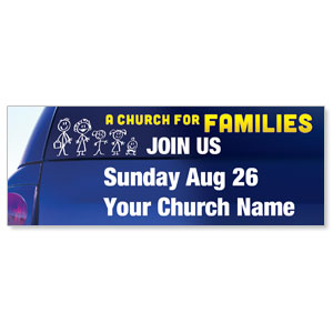 Church for Families 3 x 8 ImpactBanners
