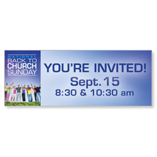 Back To Church Sunday 2013 Banner