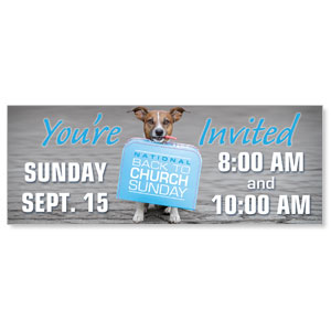 Doggone Invited Banners
