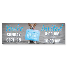 Doggone Invited Banner
