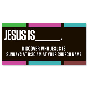Jesus Is______? - 8 ImpactBanners