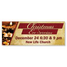 Christmas Eve Lights Banner