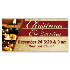 Christmas Eve Lights Banner