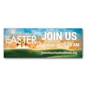 Easter Landscape Banners