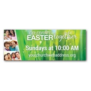 Easter Together 3 x 8 ImpactBanners