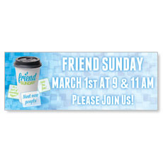 Friend Sunday Coffee Banner