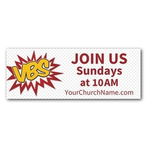 VBS Red Burst Banners