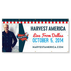 Harvest America 2014 Banner