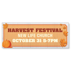 Join Us Harvest Festival Banner