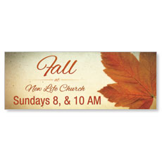 Fall Logo Card