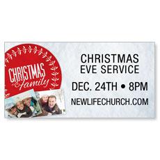 Christmas Family Banner