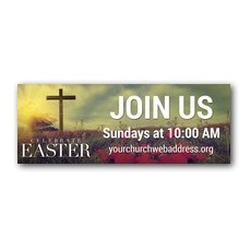 Celebrate Easter Cross Banner