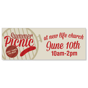 Summer Picnic Banners
