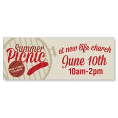 Summer Picnic Banner