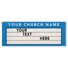 Church Marquee Banner