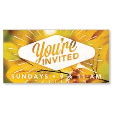 Invited Burst Banner