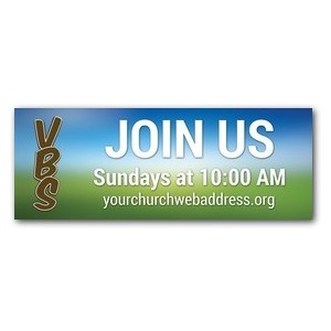 Blue Sky VBS Banners