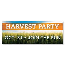 Harvest Party Join Banner
