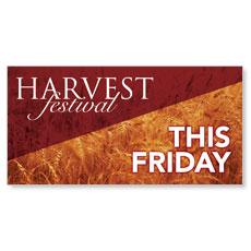 Harvest Festival Friday Banner