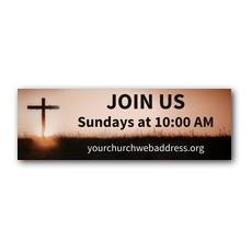 Easter Cross Banner