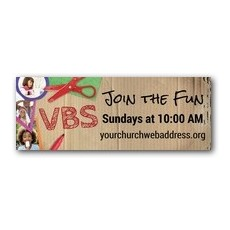 VBS Crafts Banner