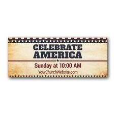 America Stars and Stripes Banner