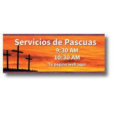 Crosses Spanish Banner