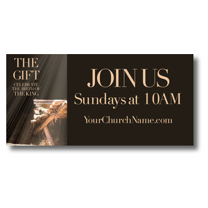 The Gift Manger Banners