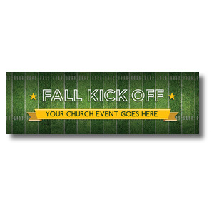 Football Field Banners