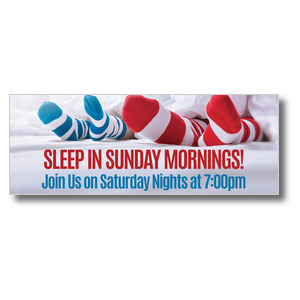 Sleep In Socks Banners