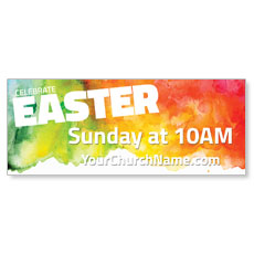 Celebrate Easter Events Banner
