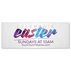 Easter Colors Banners