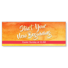 Big Invite New Beginning Banner