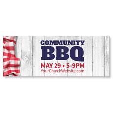 Community BBQ Banner