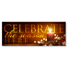 Celebrate The Season Candle