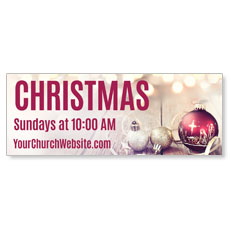 Christmas At Ornaments Banner