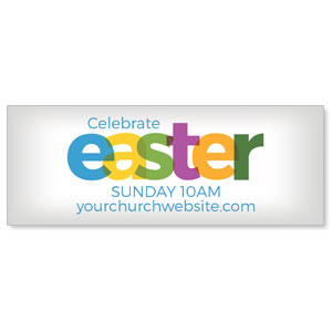 Color Bold Easter ImpactBanners