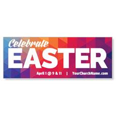 Geometric Bold Easter Banner