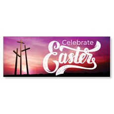 Tall Crosses Easter