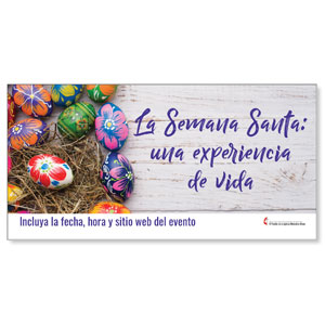 UMC Easter Eggs Spanish Banners