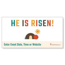 UMC Easter Risen Banner