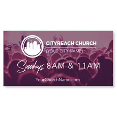 CityReach Plum Banner