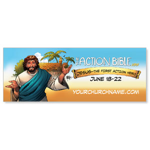 The Action Bible VBS - 3x8 ImpactBanners
