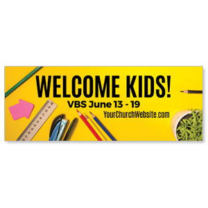 VBS Yellow - 3x8 ImpactBanners