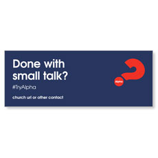 Alpha Small Talk Navy