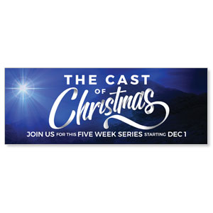 The Cast of Christmas - 3x8 ImpactBanners