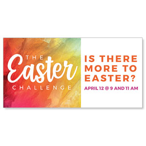 The Easter Challenge - 4x8 ImpactBanners